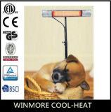 Muito morno! Calefator infravermelho Home do ponto luminoso do pátio do calefator