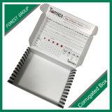 Fabricante ondulado impresso personalizado superior da caixa da caixa da dobra