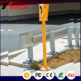 철도 옥외 IP 통화법 통신망 해결책 Knzd-09A는 전화 Kntech를 방수 처리한다