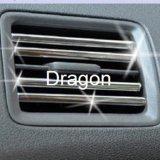 Guarnição do protetor da borda da porta de carro do cromo 49 pés de forma sem redução de U