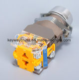 Interruptor de pulsador iluminado de la chavetera con Ce/CB/CCC