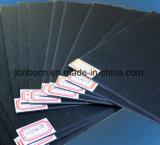 Völlig gefärbte schwarze verbindliche Pappe