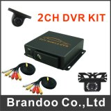 Personalizado Mdvr Kit 2 Camera Bus Taxi Car Vehicle DVR