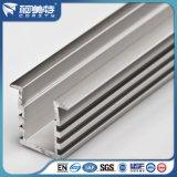 Perfil de aluminio anodizado natural del OEM para el sistema del radiador de la iluminación del LED