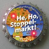 LEDのロゴプリント(3569)が付いている軽いビール瓶の帽子の記章