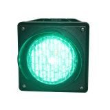 Indicatore luminoso verde 100mm di Cobwebbery un indicatore luminoso del segnale stradale dell'unità LED