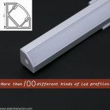 Corner LED Profile Aluminium pour LED Strip avec housse pour PC