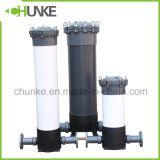 Chunke純粋な水のための産業Ss/PVC PPのカートリッジフィルターHosuing