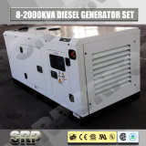 85kVA 50Hz тип электрический тепловозный производя комплект 3 участков звукоизоляционный (SDG85FS)