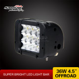 4.5 '' Popular Popular triple pila CREE 36W LED Light Bar