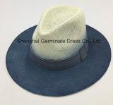 Sombrero impreso de papel del sombrero de paja con la cinta (Sh022)