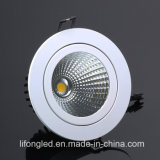 直径120mmは105mm Dimmable 12W 18W Downlightを切り取った
