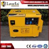 тип генератор 7kVA 7kw Air-Cooled молчком нефти газолина медного провода 100%