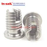 Fábrica de giro de China Shenzhen do fabricante da inserção da linha do aço inoxidável