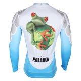 Скача куртка спортов способа Pattened лягушки покрывает втулка Breathable быстро сухой задействуя Джерси людей длинняя