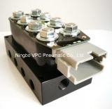 Blocchetto molteplice della valvola di velocità dell'interruttore della sospensione del sacchetto del compressore d'aria di Vvu4 Airmaxxx 480 Chrm