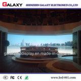 Visualizzazione fissa dell'interno P1.5625/P1.667/P1.923 del tabellone per le affissioni della parete della visualizzazione del comitato di HD LED video per la fase della TV, riflettente centro