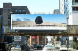 Прокатанный рекламировать освещенный контржурным светом Frontlit гибкого трубопровода знамени напольный 440g лоснистый
