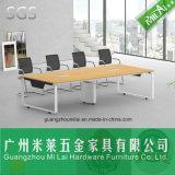 강철 다리를 가진 전체적인 판매 가격 똑바른 디자인 오피스 회의 테이블
