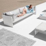 Conjunto al aire libre del sofá de la rota del respaldo del brazo del salón de los muebles del patio del jardín