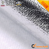 Металлическим ткани пленки прокатанные серебром