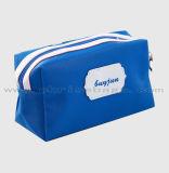 Les nouveaux produits imperméabilisent le sac exquis de renivellement avec les femmes cosmétiques de sac de logo fait sur commande de traitements