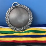 カスタム旧式な銀製はダイカストの自在継手メダルを
