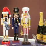 새로운 디자인 손은 크리스마스 수지 Nutcracker 임금을 만든다 Statues