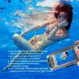 iPhone 5/6/6plusのための専門40meter潜水の防水言い分