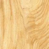 Papier en bois de plancher des graines de couleur de noix blanche