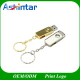 Metal USB Flash Drive Keyring Swivel USB Pendrive