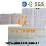 Papel de carta de la buena calidad en la hoja para el equipamiento médico