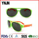 A borracha relativa à promoção da alta qualidade caçoa óculos de sol para crianças