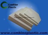 Hoja publicitaria superior de la espuma del PVC de los materiales de la muestra