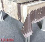 Nuevo mantel impreso PVC del modelo del diseño LFGB con el forro de Spunlace