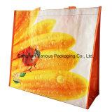 2017の印刷されたPPによって編まれる袋、プラスチックショッピング・バッグ