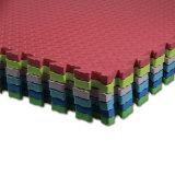 Étage antidérapage à haute densité de couvre-tapis de jeu de gosses de couvre-tapis de Taekwondo de puzzle