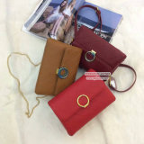 Sacs d'épaule de femmes de marque de mode de cuir véritable de sacs à main de créateur fabriqués en Chine Emg4952