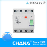 2p 4p Elektromagnetisch Type ELCB RCCB met de Certificatie van Ce