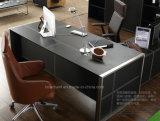 Tabela de couro do escritório da mobília PVC/MDF de Fashion&Modern (V1)