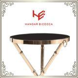 Meubles modernes du Tableau (RS161203) de table basse de thé de Tableau de meubles latéraux d'acier inoxydable