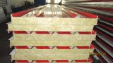 Панель сандвича минеральных шерстей стального листа Китая цветастая