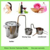 Haushalt 30L/8gal Hydrolat Extraktion-Spiritus-Wasser-Destillierapparat-rostfreie Dampfkesselmoonshine-noch Spiritus
