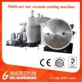 Cczk grosses Größen-Edelstahl-Rahmen-Küche-Bad-Wannen-Gold, schwarze PVD Vakuumbeschichtung-Maschine, Titannitrid-Beschichtung-Gerät