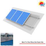 Les brides à énergie solaire de support de toit de bidon de l'aluminium ont anodisé (XL185)