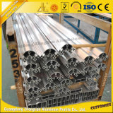 Riga di flusso personalizzata profilo di alluminio industriale per la lega di alluminio della guardavia