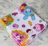 Хлопка рынка выдвиженческое полотенце 100% руки для младенца