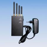 2W draagbare 4G Blocker van het Signaal van de Telefoon van Lte 3G Mobiele met 4 Antennes