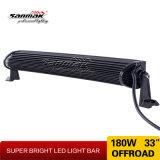 barra chiara chiara curva calda di riga LED di 180W 33inch doppia