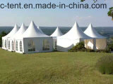 Openlucht 3mx3m, 4mx4m, 5mx5m de Tent van Gazebo van de Pagode van pvc van het Aluminium voor het Huwelijk van de Partij